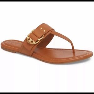 NWT Tory Burch Madisen Flat Thong Sandal